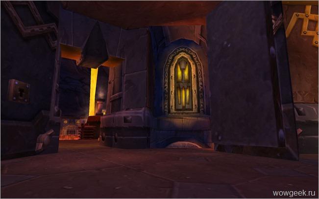 Вход в Старый Стальгон с тронного зала