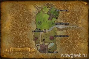 Карта Два Пика