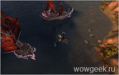 Орда атакует форт Альянса возле Кабестана