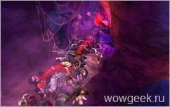 Беготня мобов в пещерах Хиджала
