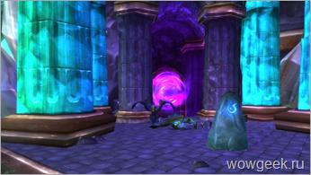 Вход в Каменное ядро / Stonecore
