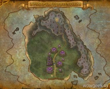 Карта Ярмарки Новолуния