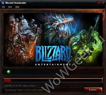 Инталлятор Diablo 3
