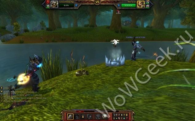 Битвы питомцев: сражение с игроками