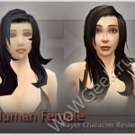 Новые модели персонажей людей женского пола