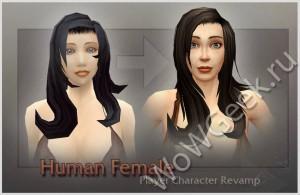 Новая модель женского персонажа в world of dreanor